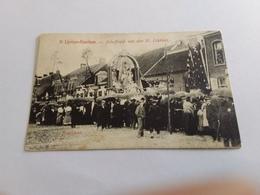 Postkaart  St  Lievens Hauthem Jubelfeest 1908 - België
