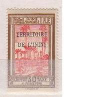 ININI              N° YVERT  :   TAXE   4       NEUF SANS GOMME        ( SG     1/25   ) - Inini (1932-1947)