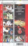 Belgium 2005 Mi Bl 103 MNH ( ZE3 BLGbl103 ) - Judo
