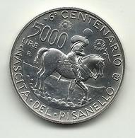 1995 - Italia 5.000 Lire Pisanello - Senza Confezione - Commemorative