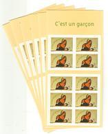 """Lot De 6 Carnets """"Naissance Garçon"""""""" - Carnets"""