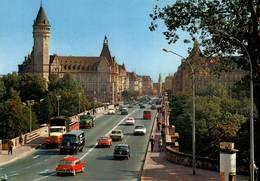 CPM - LUXEMBOURG - Avenue De La Liberté (voitures) .... - Lussemburgo - Città