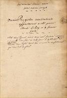 Trois Manuscrits Du 18e Siècle - Manuscripts