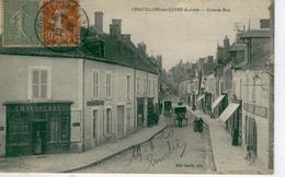 CHÂTILLON Sur LOIRE Grande Rue -1920 - Bon état - Chatillon Sur Loire