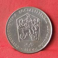 CZECH REPUBLIC 2 KORUNY 1984 -    KM# 9 - (Nº28440) - Tschechische Rep.