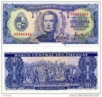 URUGUAY 50 Pesos P 46 UNC - Uruguay