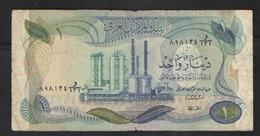 IRAQ 1 DINAR  1973 - Iraq