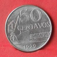 BRAZIL 50 CENTAVOS 1979 -    KM# 580b - (Nº28451) - Brasilien