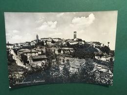 Cartolina Mombaruzzo - Panorama - 1956 - Asti