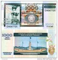 BURUNDI  1000 Francs   P 46 39e 1.5.2009  UNC - Burundi