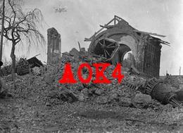 62 FRESNES LES MONTAUBAN Arras Artois Eglise 1917 Occupation Allemande Nordfrankreich - France