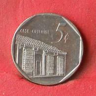 CUBA 5 CENTAVOS 1996 -    KM# 575,2 - (Nº28456) - Cuba