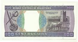 Mauritania - 100 Ouguiya 1989 - Mauritania