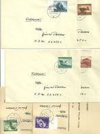 Dr873-76,881,883 Gest Auf Feldpost Alles überfrankiert, Aber Gelaufen Auf Brief - Deutschland