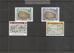 Sainte-Hélène - Iles -Cartes ( 336/339 XXX -MNH) - St. Helena