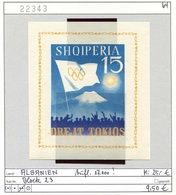 Albanien - Albanie - Albania - Michel Block 23 - ** Mnh Neuf Postfris - Olympiade Tokio 1964 - Albanien