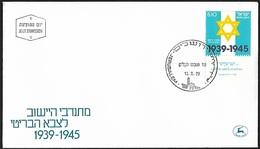 1979 - ISRAEL - FDC + Michel 789 [Jewish Brigade] + JERUSALEM - FDC