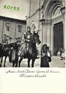 Toscana-arezzo Veduta Giostra Del Saracino Portale Duomo (v.retro) - Arezzo
