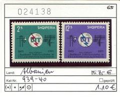 Albanien - Albanie - Albania - Michel 939-940 - ** Mnh Neuf Postfris - UIT - Albanien