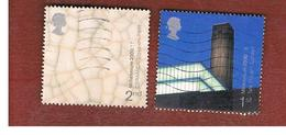 GRAN BRETAGNA.GREAT BRITAIN -  SG 2142.2143  -  2000 MILLENNIUM PROJECTS: ART & CRAFT  - USATI - 1952-.... (Elisabetta II)