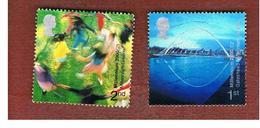 GRAN BRETAGNA.GREAT BRITAIN -  SG 2148.2149  -  2000 MILLENNIUM PROJECTS: PEOPLE  & PLACES  - USATI - 1952-.... (Elisabetta II)