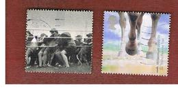 GRAN BRETAGNA.GREAT BRITAIN -  SG 2152.2153  -  2000 MILLENNIUM PROJECTS: STONE & SOIL  - USATI - 1952-.... (Elisabetta II)