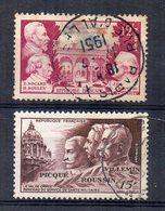 Francia - 1951 - In Onore Della Medicina Veterinaria E Militare - 2 Valori - Usati - (FDC15148) - Francia