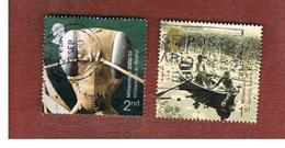 GRAN BRETAGNA.GREAT BRITAIN -  SG 2162.2163  -  2000 MILLENNIUM PROJECTS: MIND & MATTER  - USATI - 1952-.... (Elisabetta II)