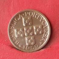 PORTUGAL 10 CENTAVOS 1959 -    KM# 583 - (Nº28477) - Portugal