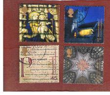 GRAN BRETAGNA.GREAT BRITAIN -  SG 2170.2173  -  2000 MILLENNIUM PROJECTS: SPIRIT & FAITH (COMPLET SET OF 4)  - USED - 1952-.... (Elisabetta II)