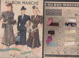 Paris : Catalogue AU BON MARCHE 1940 Nouveautés Printemps été (CAT 1378) - Publicités