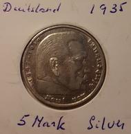 1935 5 Mark Silver - [ 4] 1933-1945 : Third Reich
