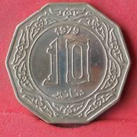 ALGERIA 10 DINARS 1979 -    KM# 110 - (Nº28484) - Algérie