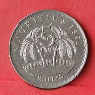 MAURITIUS 5 RUPEES 1991 -    KM# 56 - (Nº28486) - Mauritius