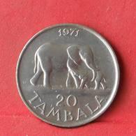 MALAWI 20 TANBALA 1971 -    KM# 11,1 - (Nº28487) - Malawi