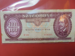 HONGRIE 100 FORINT 1992 CIRCULER - Hongarije