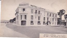 06-JUAN-LES-PINS- HOTEL LUTETIA- UNE FAÇADE DE L'HOTEL - France