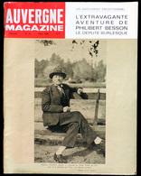 AUVERGNE MAGAZINE Numéro 9 - Mars 1968 : Philibert BESSON, Cité U, Montluçon, Pradelles, Marcelle AUCLAIR, Issoire ... - Auvergne