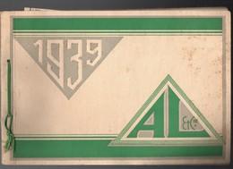 Chalon Sur Saône : Beau Catalogue à L'italienne LIMONIER 1939  Bonneterie Fantaisie  (CAT 1380) - Advertising