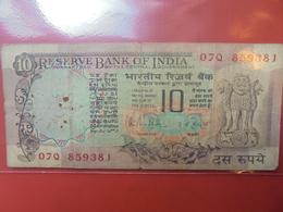 INDE 10 RUPEES VAR N°1 CIRCULER - Inde