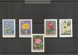 Vietnam Du Nord - Fleurs ( 267/271 XXX -MNH) - Vietnam