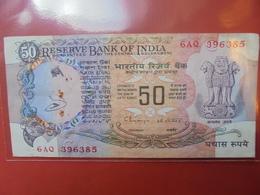 INDE 50 RUPEES  CIRCULER - Inde