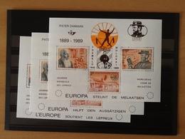 PR163/165 ** Damiaan 100 Europa Steunt De Melaatsen. - Belgique