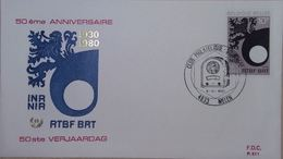 FDC Radio Radiodiffusion  R.T.B.F. (Radio-Télévision Belge De La Communauté Française, Melen) - Telecom