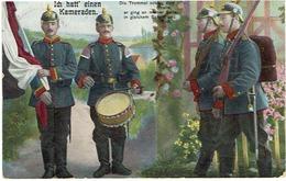 Ich Hatt' Einen Kameraden - Postkaart / Carte Postale - Verstuurd 1915 / Envoyé 1915 : Scans - 1914-18