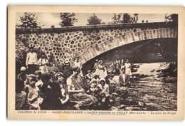 Saint Didier Du Velay_Le Pont Du Prege_Etat Superbe. - Other Municipalities