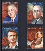 TANZANIA  - 1996 AMERICAN BROADCASTING EVENTS   M1006 - Tanzania (1964-...)