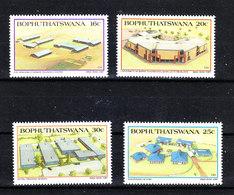 Bophuthatswana - 1987. Centri Tecnici,culturali; Università. Technical, Cultural Centers; University. Complete MNH Serie - Architettura