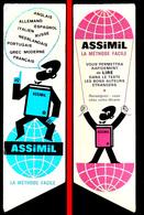 Ancien Marque-page ASSIMIL - Méthode D'apprentissage Des Langues - Marque-Pages