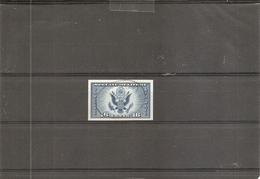 USA ( PA 19 Non Dentelé Oblitéré) - Air Mail